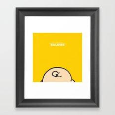 Charlie Brown Framed Art Print