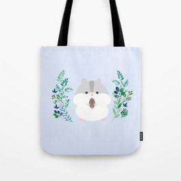 Furball in the garden Tote Bag