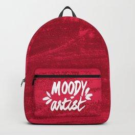 Moody Artist Magenta Backpack