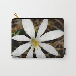 Bloodroot Blossoms 3 Carry-All Pouch