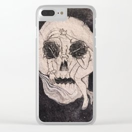 Lady death Clear iPhone Case