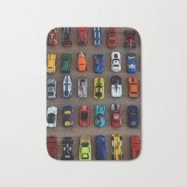 1980's Toy Cars Bath Mat