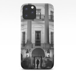 President Obama Entering The White House - 2012 iPhone Case