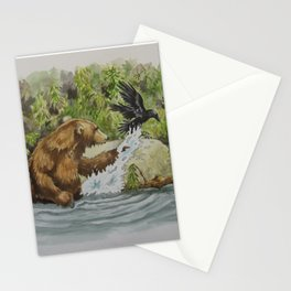 Otis & The Raven Stationery Cards