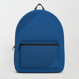 Classic Blue Golden Ratio Geometric Pattern Backpack