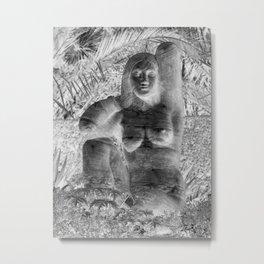 galleryHLT Naked Lady Garden 111 Metal Print