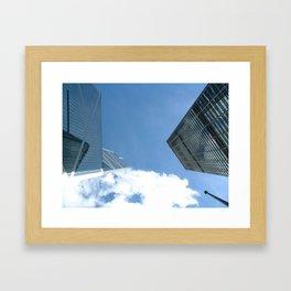 Cityscape - Hong Kong Framed Art Print