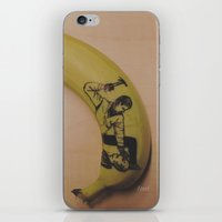 ryan gosling iPhone & iPod Skins featuring Hammertime with Ryan Gosling • DRIVE by Stephan Brusche