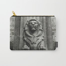 Vancouver Raincity Series - Lion at the Gate - Black and White Carry-All Pouch