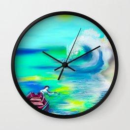 Secret Visitor Wall Clock