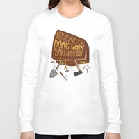 mike wrobel Long Sleeve T-shirts featuring Mike Rowe by Josh LaFayette