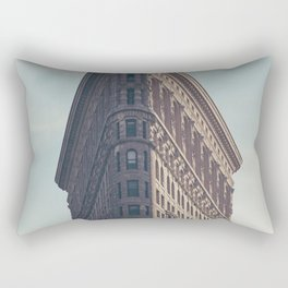Flat Flat Iron - NYC Rectangular Pillow