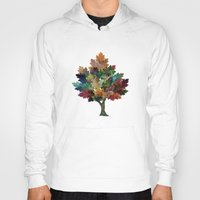 fall Hoodies featuring Fall is Back! by Klara Acel