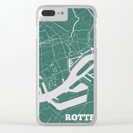 Rotterdam, the Netherlands 2018 Clear iPhone Case