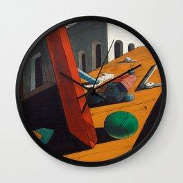 Giorgio de Chirico Evil Genius of a King Wall Clock