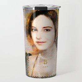 Anne Boleyn art Travel Mug