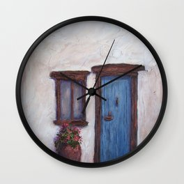 Favorite Things in Ibiza AC150711a Wall Clock