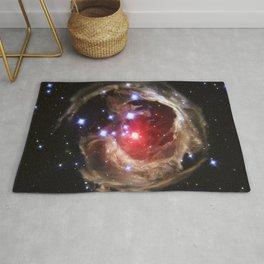 Light Echo illuminates dust around supergiant star V838 Monocerotis Rug