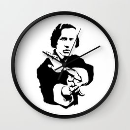 Chopin Fighter Wall Clock