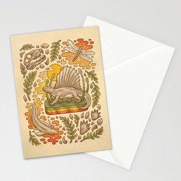 Daydream Dimetrodon Stationery Cards