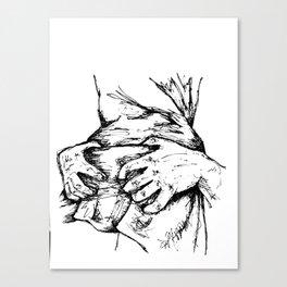 Grab it Canvas Print