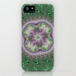 Fractal Rosette iPhone Case
