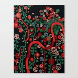 "Gustav Klimt ""Textile design - Model 7"" Canvas Print"