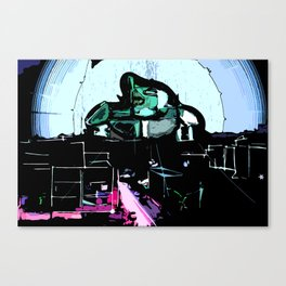 The Defender Canvas Print