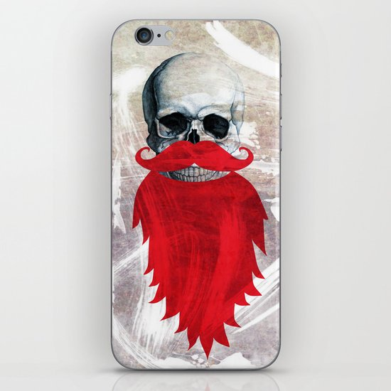 Beard Skull iPhone & iPod Skin