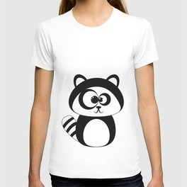Cute Funny Raccoon T-shirt