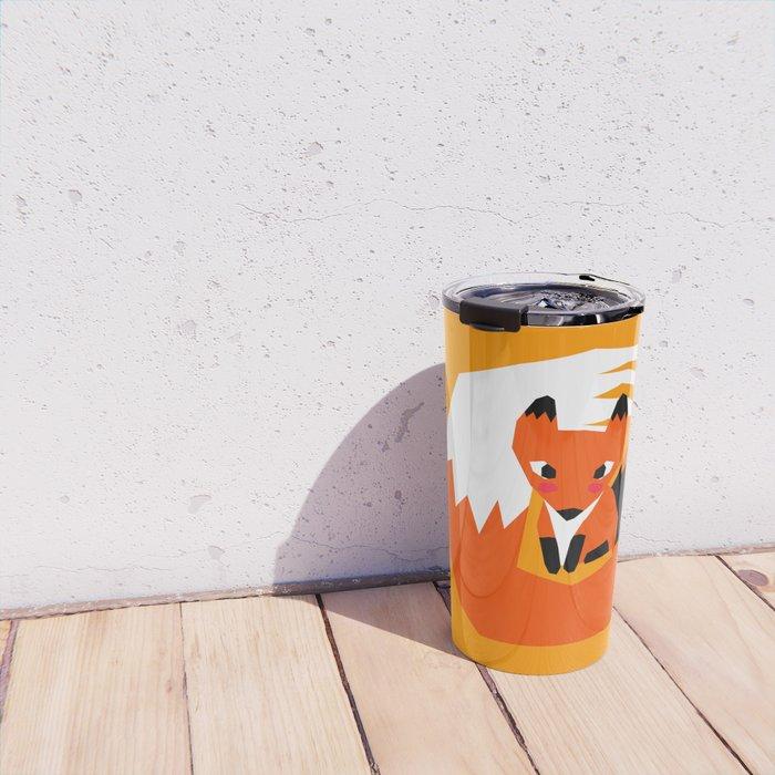 Red Fox Travel Mug