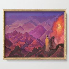 Nicholas Roerich - Mohammed The Prophet - Digital Remastered Edition Serving Tray