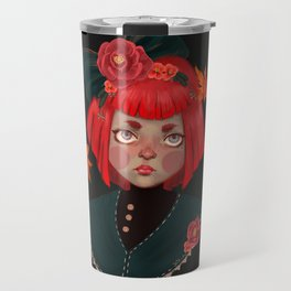 goldfish doll Travel Mug