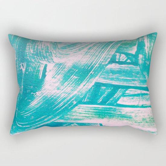 Turquoise Rectangular Pillow