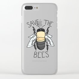 Save The Bees Pt. 3 Clear iPhone Case
