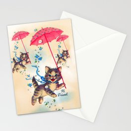 Kitty Friends Stationery Cards