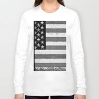 flag Long Sleeve T-shirts featuring Flag by Keith Dotson