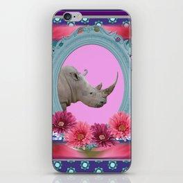 Rhino Frame pattern Design iPhone Skin