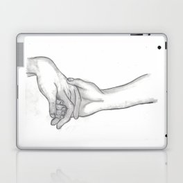 Hand in Hand Laptop & iPad Skin