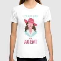 agent carter T-shirts featuring It's Agent by Courtney Yu