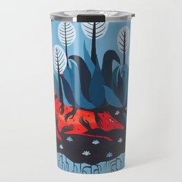 Smug red horse 3. Travel Mug