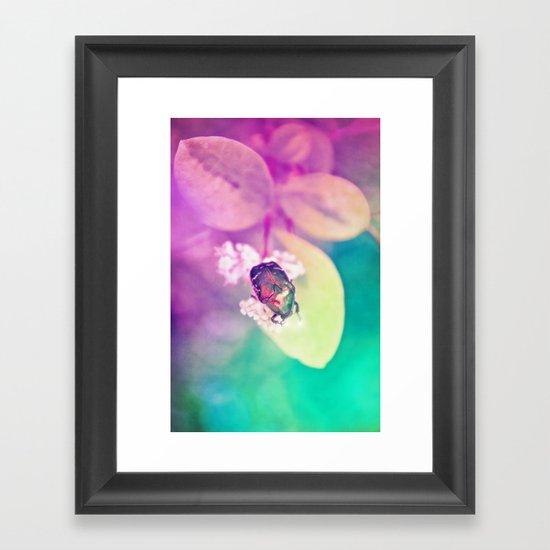 LOVEBUG Framed Art Print