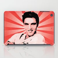 elvis presley iPad Cases featuring Elvis Presley - Pop Art by William Cuccio aka WCSmack