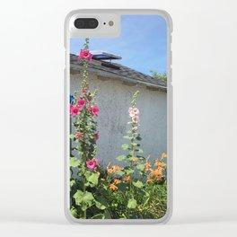 Martha's Vineyard Flowers Clear iPhone Case