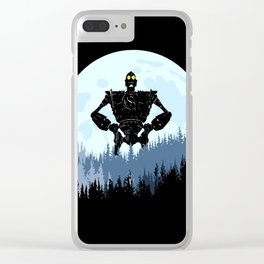 robot Clear iPhone Case