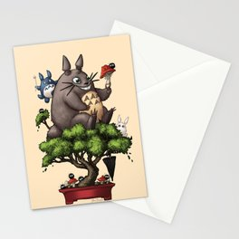 Forest Guardian Bonsai  Stationery Cards