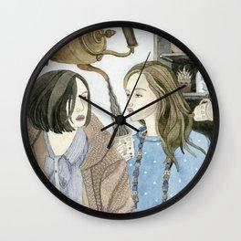 Just Between Us Girls Wall Clock
