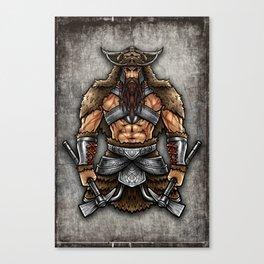 Norseman Berserker | Viking Warrior Valhalla Odin Canvas Print