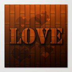 LOVE!  Canvas Print