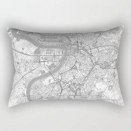 Antwerp Map Line Rectangular Pillow